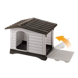 Ferplast Dogvilla 70 Πλαστικό σπίτι Σκύλου 73x59x53cm