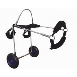 Αναπηρικό καρότσακι σκύλου μικρού μεγέθους