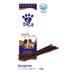 Doca λιχουδιά σκύλου spaghetti