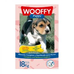 Wooffy Σκυλοτροφή για κουτάβι 18kg