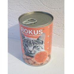 Rokus κονσέρβα γάτας κουνέλι ελάφι 410gr