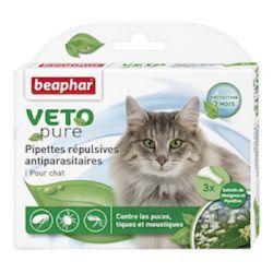 Beaphar Biocton Spot On - Φυτικές Αμπούλες (για γάτες)