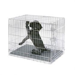 Κλουβί σκύλου μεταλλικό 76x48x54cm - Αναδιπλούμενο