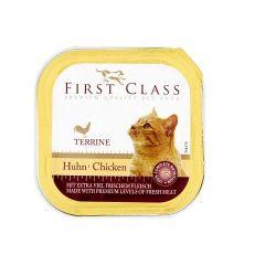 Δισκάκι First Class Γάτας  κοτόπουλο 100gr