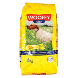 Wooffy Σκυλοτροφή Adult 18kg