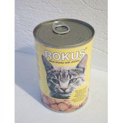 Rokus κονσέρβα γάτας Αρνί Γαλοπούλα 410gr