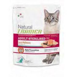 Natural Trainer Sterilized Σολωμός 1,5kg - Ξηρά τροφή γάτας