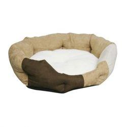 Κρεβάτι Lux Suede & Γούνα 70cm