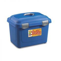 Βαλίτσα αποθήκευσης τροφής Bello Μπλέ 45x33x33cm
