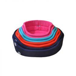 Κρεβάτι φωλιά Woof ρόζ 37x35x15cm