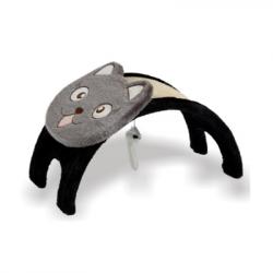 Oνυχοδρομιο γάτας γέφυρα με παιχνίδι αιωρούμενο 53x28x27cm
