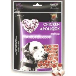 Λιχουδιά Σκύλου Camelot Chicken & Pollock Sushi 100gr