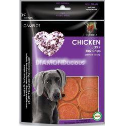 Λιχουδιά Σκύλου Camelot Chicken Jerky BBQ chips 100gr