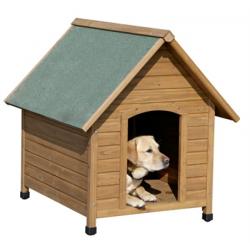 Ξύλινο σπίτι σκύλου 85 x 73 x 80cm