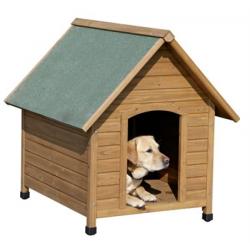 Ξύλινο σπίτι σκύλου 100 x 85 x 88cm