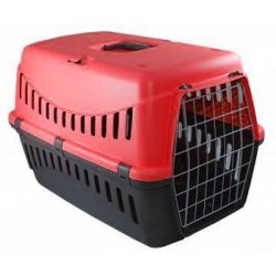 Κλουβί μεταφοράς Gipsy 1 46x31x32cm κόκκινο (Bάρoυς 5-6 kg)