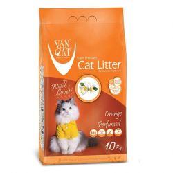 Van Cat άμμος γάτας Orange 10kg