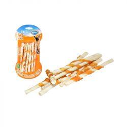 Snack Duvo Κόκκαλο λευκό sticks & κοτόπουλο 10τεμ.