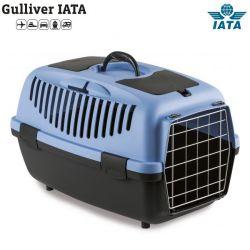 Κλουβί μεταφοράς GULLIVER 3 IATA 61x40x38cm (Bάρους 10-12kg)Μπλέ