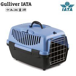 Κλουβί μεταφοράς GULLIVER 1 IATA 48x32x31cm (Bάρους 5-6 kg) Μπλέ