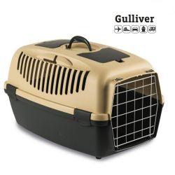 Κλουβί μεταφοράς GULLIVER 3 61x40x38cm (Bάρους 10-12kg)Μπέζ
