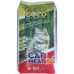 Eco gold Γατοτροφή 20kg