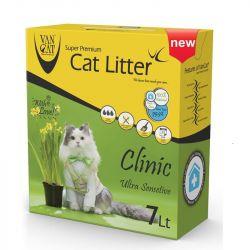 Van Cat άμμος γάτας Clinic Sensitive 6kg (7lt)