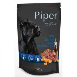 Piper φακελάκι με αρνί, καρότο και καστανό ρύζι 500gr.