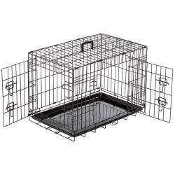 Crate - Κλουβί σκύλου μεταλλικό 62x44x50cm - Αναδιπλούμενο