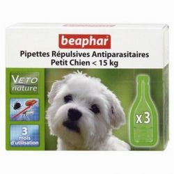 Beaphar Biocton Spot On - Φυτικές Αμπούλες (έως 15Kg)