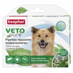 Beaphar Biocton Spot On - Φυτικές Αμπούλες (15 - 30Kg)