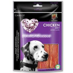 Λιχουδιά Σκύλου Camelot Dry Chicken Jerky Steak 100gr