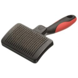 Slicker Brush Self - Cleaning - M