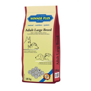 Winner Plus Adult Large breed 18kg - Ξηρά τροφή σκύλου